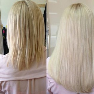 Platinum Seamless Hair Extensions