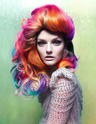 Bright Hair Colors, are They Real or Photoshopped?